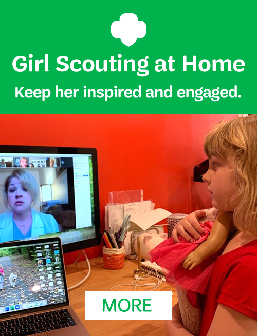 Girl Scouting at Home